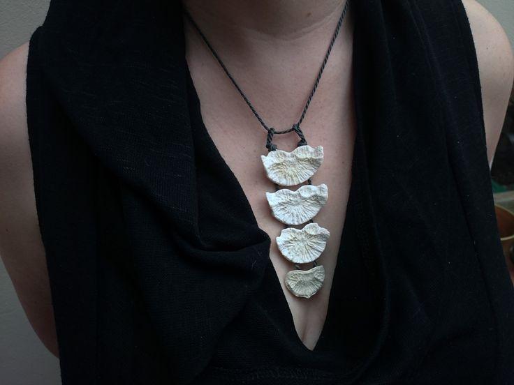 Real bone necklace. more pagan jewelry on www.etsy.com/uk/shop/chrisrichfordart