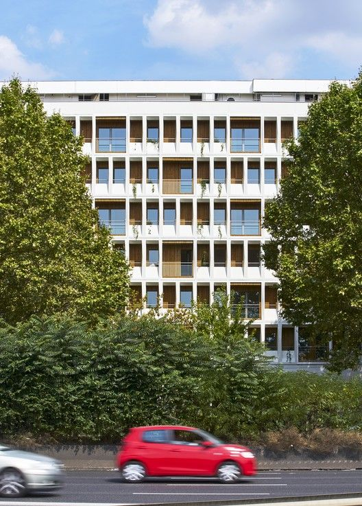 Transformation of Office Building To 90 Apartments,© Michel Denancé