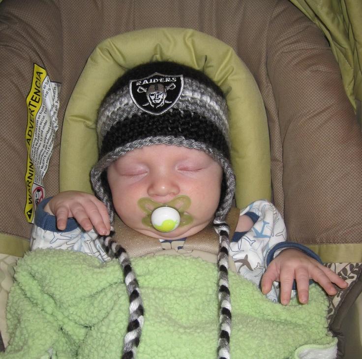 Fancy Crochet Raiders Hat All Baby
