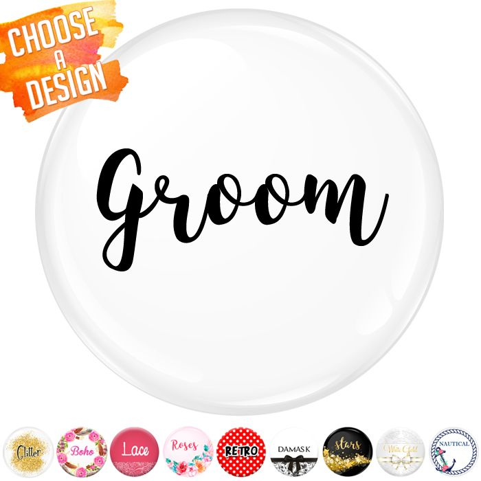 Groom Badge