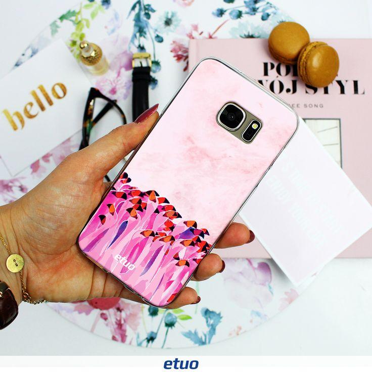 Różowe flamingi na Twoim telefonie