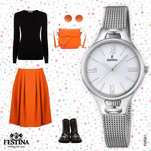 Look per... Una giornata di shopping tra amiche! Un tocco di colore ed un accessorio importante per una giornata all'insegna del glam!