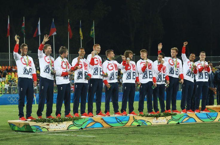 Medal - Great Britain (GBR - RU - Male) - Rugby Sevens - Great Britain - Men…
