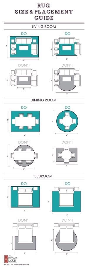 Best 25+ Rug size ideas on Pinterest Rug placement, Area rug - rug sizes for living room