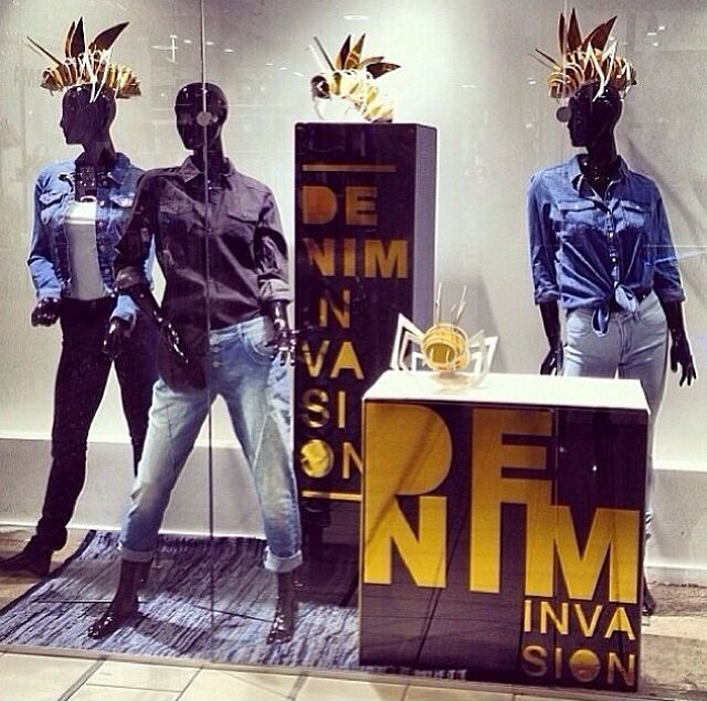 Window campaign for ONLY - 2014