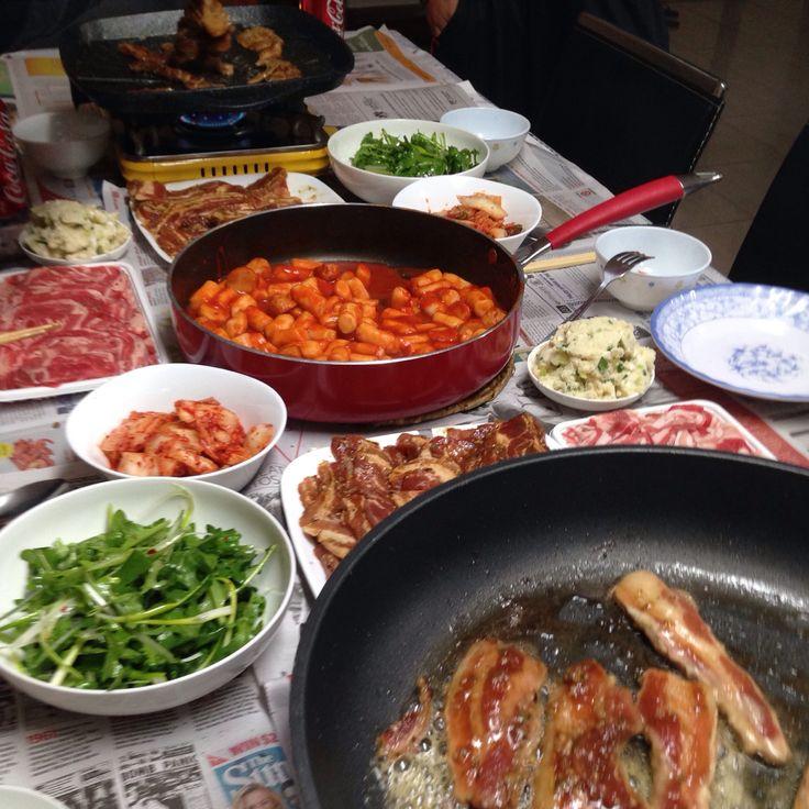 Korean BBQ home style