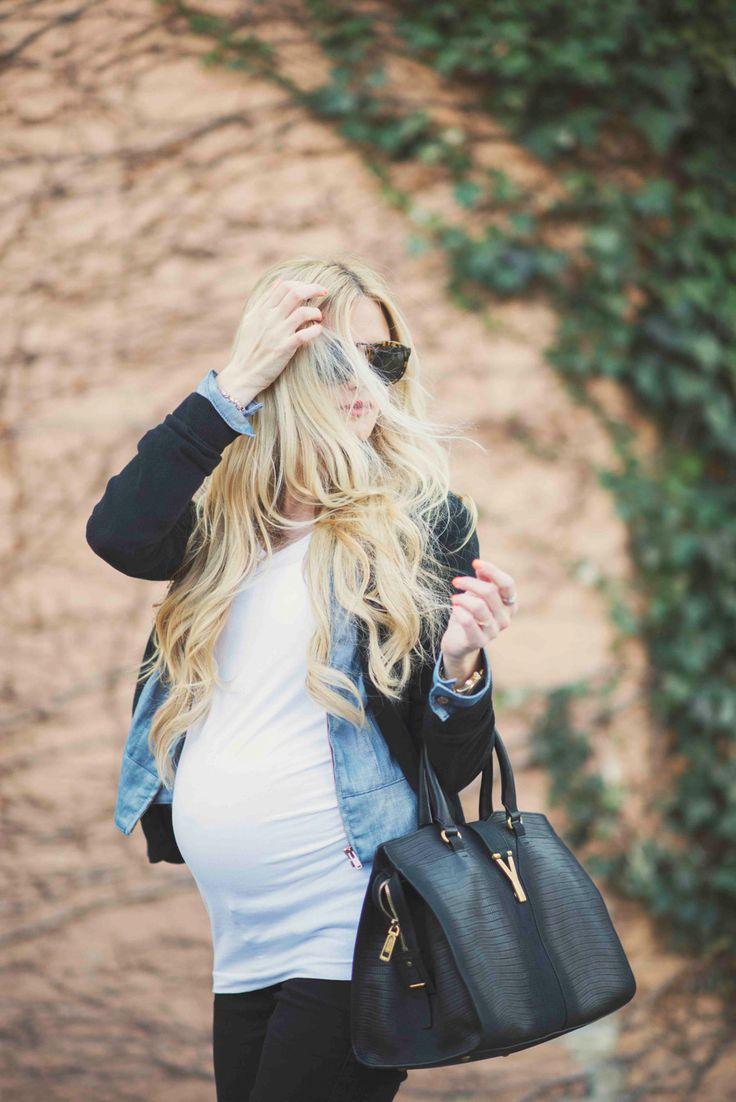 Layered with Denim - Barefoot Blonde