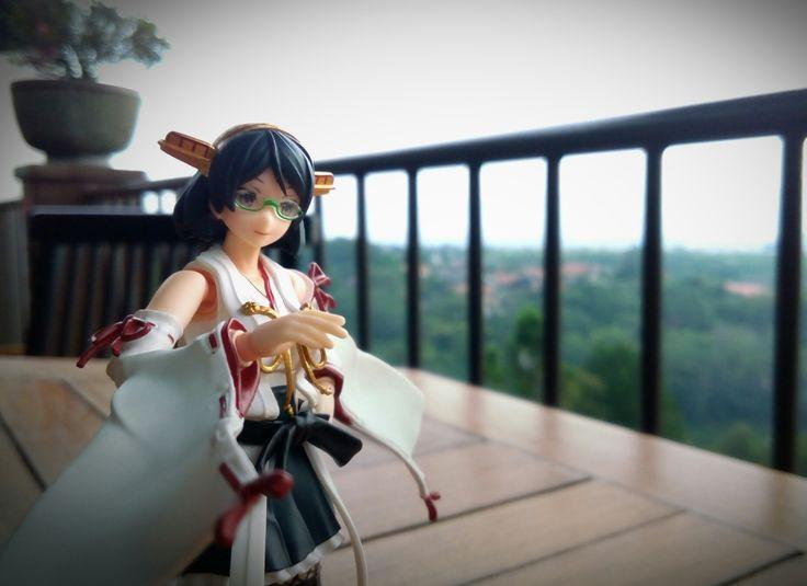 #AGP #Kirishima #Kancolle. A ship on top of a mountain? Hmm...
