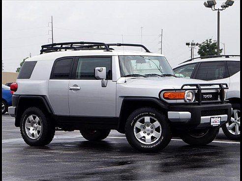 2008 Toyota FJ Cruiser for sale, Springfield MO, 4.0 6 Cylinder,Silver - www.cartrucktrader.com (id: 525922423)