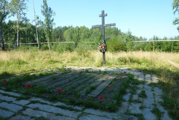 burial site of the murdered Romanov family