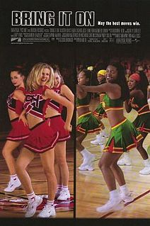 Bring It On was filmed in Oceanside, San Diego State University, Eastlake High School, Kearny Senior High School and Torrey Pines High School