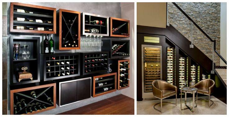 Les 8 meilleures images du tableau cave vin pr salon - Cave a vin dans salon ...