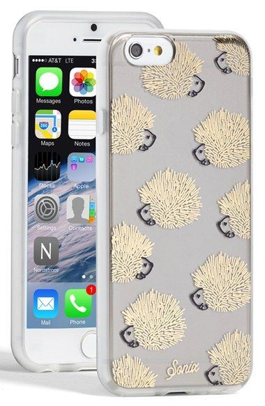 sonix iphone case sonix clear hedgehog iphone 6 iphone 6 cases 13004