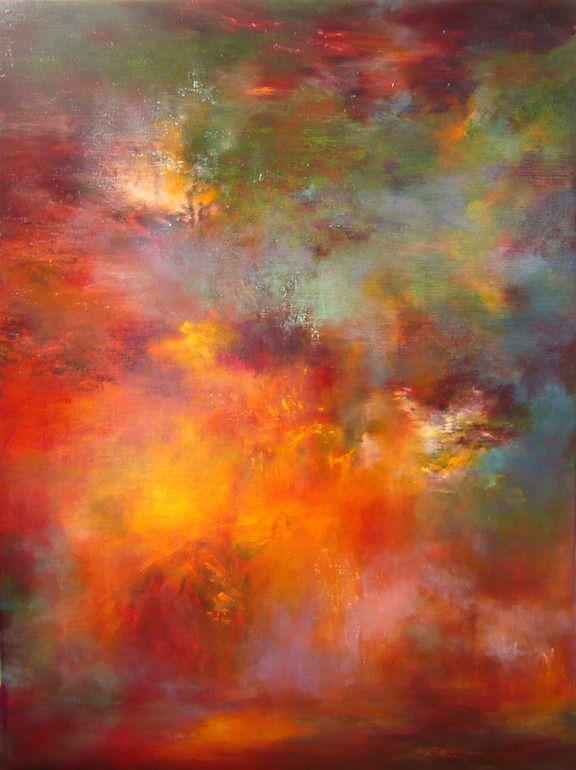 """Saatchi Online Artist: Rikka Ayasaki; Acrylic, 2012, Painting """"Twilight 7008 B"""""""