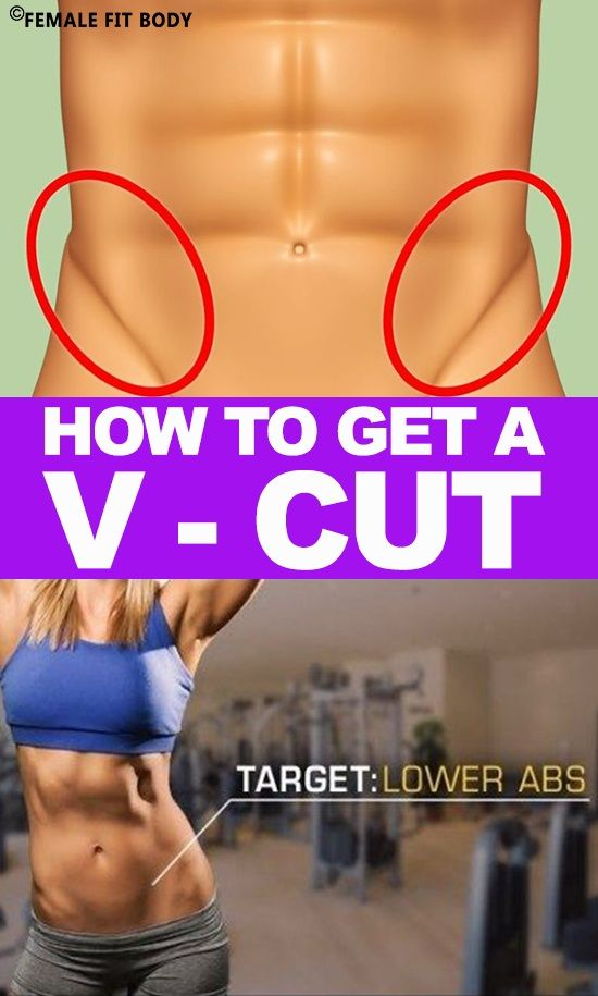 Learn How to Get a V Cut in Your Lower Abdominal Muscles