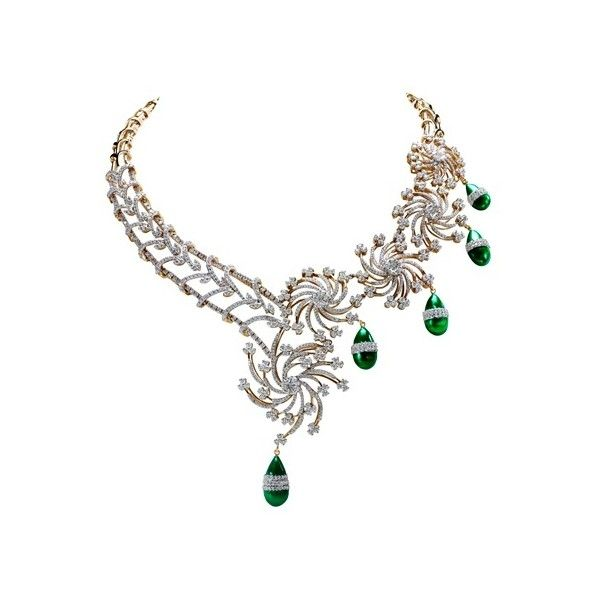 TBZ THE ORIGINAL - Buy Gold | Indian Jewellery ❤ liked on Polyvore featuring jewelry, necklaces, accessories, indian gold necklace, indian jewellery, yellow gold necklace, indian jewelry and indian necklace