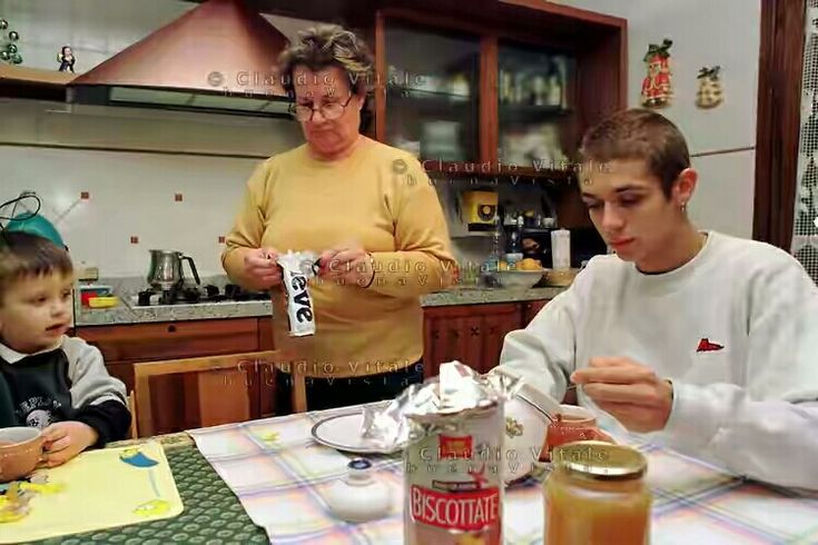 Vale, Luca Marini & Grandmother