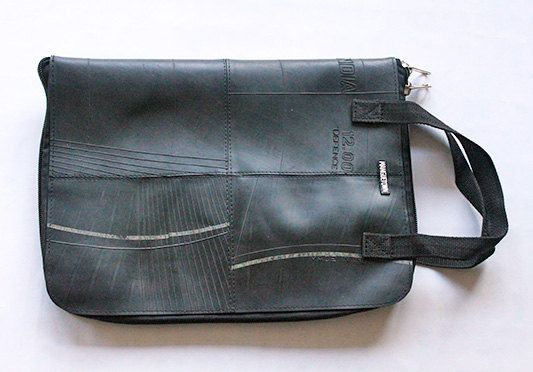 Fair Trade Upcycled Tube Laptop Cover by Manguetown on Etsy, 100.00