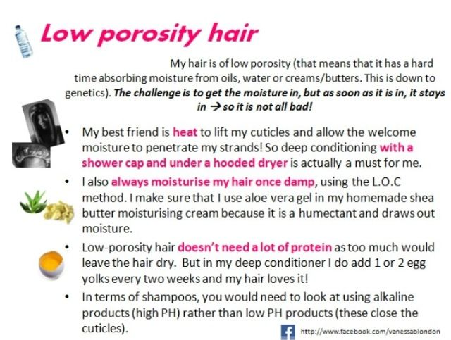 Now that I know I have low porosity hair now what do I do about it!