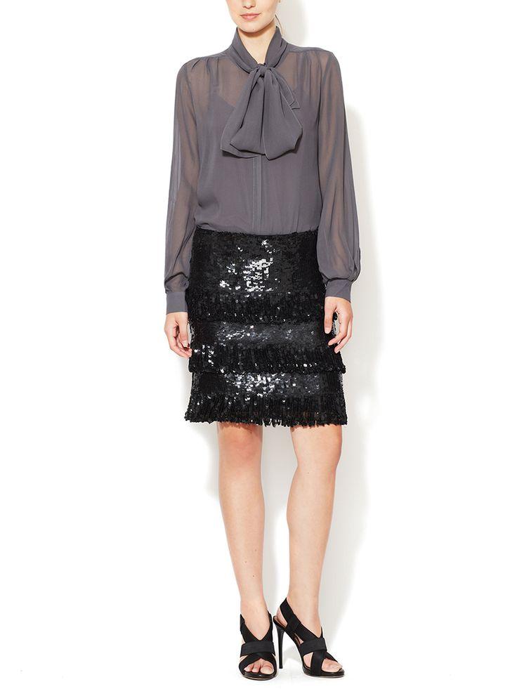 Purchase Sale Online Quality Outlet Store Maison Margiela Woman Suede-trimmed Mélange Jacquard Skirt Claret Size 40 Maison Martin Margiela OPLL6z6k