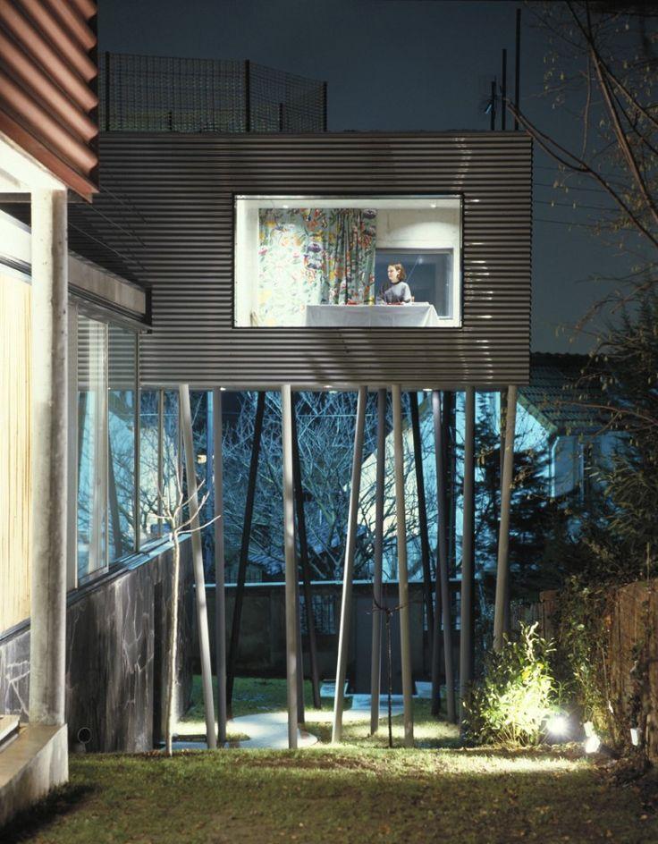 Villa dall'Ava. Rem Koolhaas OMA. Saint-Cloud, Paris's Surburbian. Photographs…