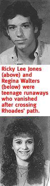 Victims Ricky Lee Jones and Regina Kay Walters Robert Ben Rhoades   Photos   Murderpedia, the encyclopedia of murderers