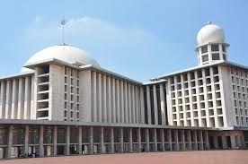 Masjid Istiqlal Jakarta, menjadi masjid terbesar di Asia Tenggara. Proud! #PINdonesia
