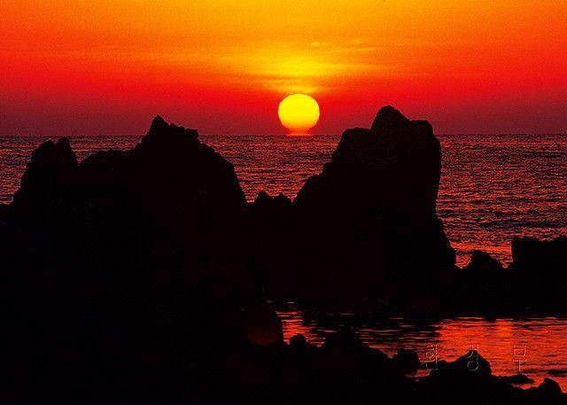 Sunrise over #Haesindang in #Samcheok, Korea