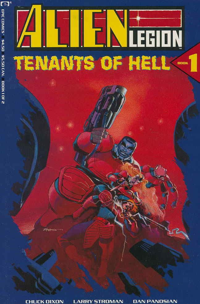 COMIC BOOKS FOR SALE!  Alien Legion: Tenants of Hell Issue #1: Hell Is A Planet - Printing #1 - $4.98 - Very Fine - 3-67156