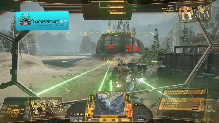 Play like a pro with our mechwarrior aimbot,  more about it on our page  http://www.gamesaimbot.com/2012/12/mechwarrior-aimbot.html