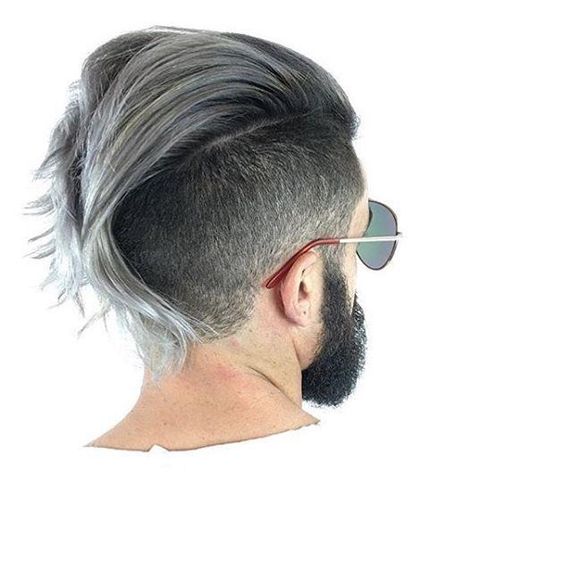Cool! Nice work @sugarskulls @maidencolor #regram #americansalon #hairbrained