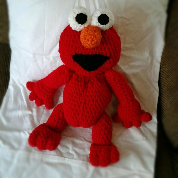 Elmo Knitting Pattern : 17 Best images about Knitted Animals and Other Things on ...