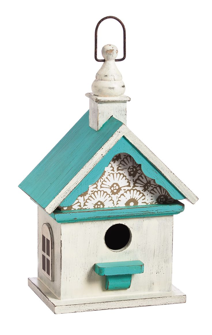Chapel Roof Hanging Birdhouse