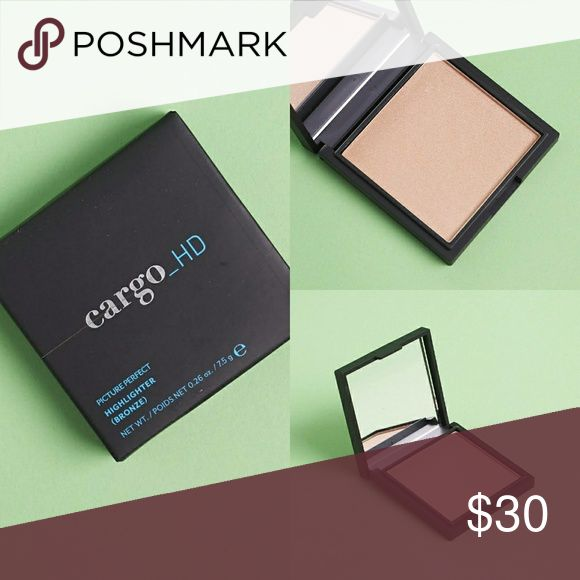 Last chance! Cargo HD Picture Perfect Highlighter Nib! Cargo HD Picture Perfect Highlighter in Bronze  -this highlighter will give you the radiant picture perfect finish. -lightweight, velvety powder formula goes on flawlessly yet remains invisible to the camera Cargo Makeup