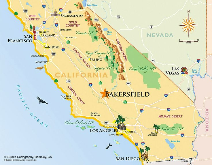 Best Custom Recreation Travel Visitor Maps Images On - Los angeles dma map