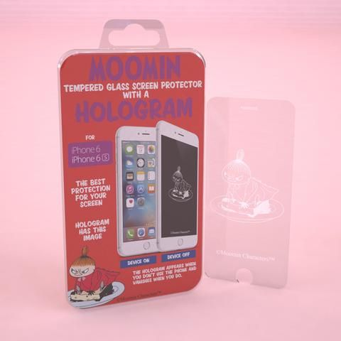 Tempered glass screen protector with a Little My hologram for iPhone 6/6s
