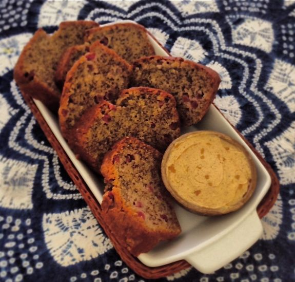 Outback Chef - Banana & Riberry Bread with Wattleseed Espresso Butter