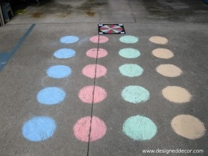 D.I.Y. Twister game  http://designeddecor.wordpress.com/  #twister game, #outside games