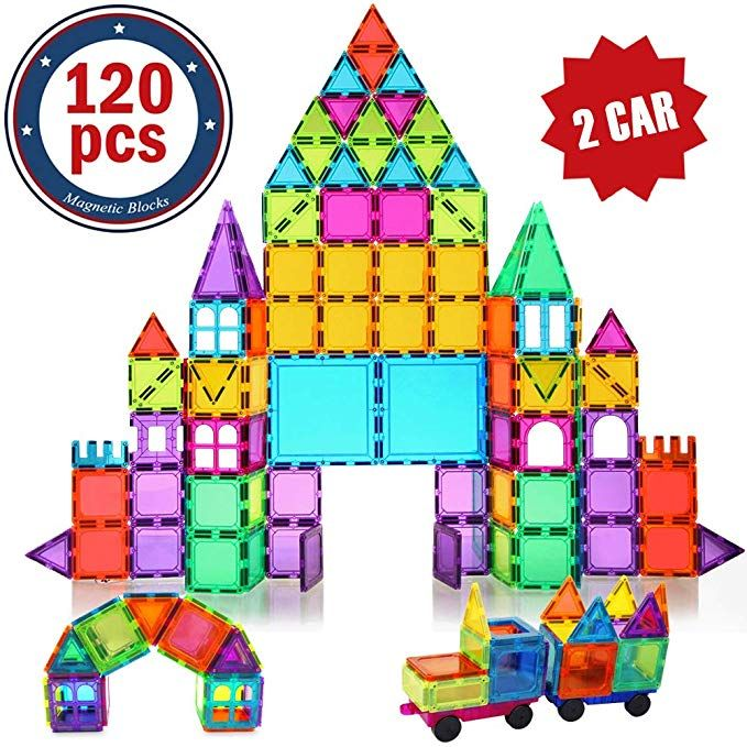 Bmag Magnetic Building Blocks For Kids 3d Magnetic Building Tiles Set Stem Preschool Construction Toys Educational Puzzles 120 Pcs Wi Elisi Fikirleri Fikirler