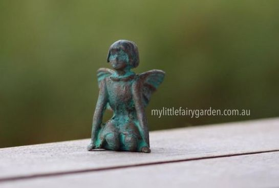 Jade - The Iron Fairies My Little Fairy Garden