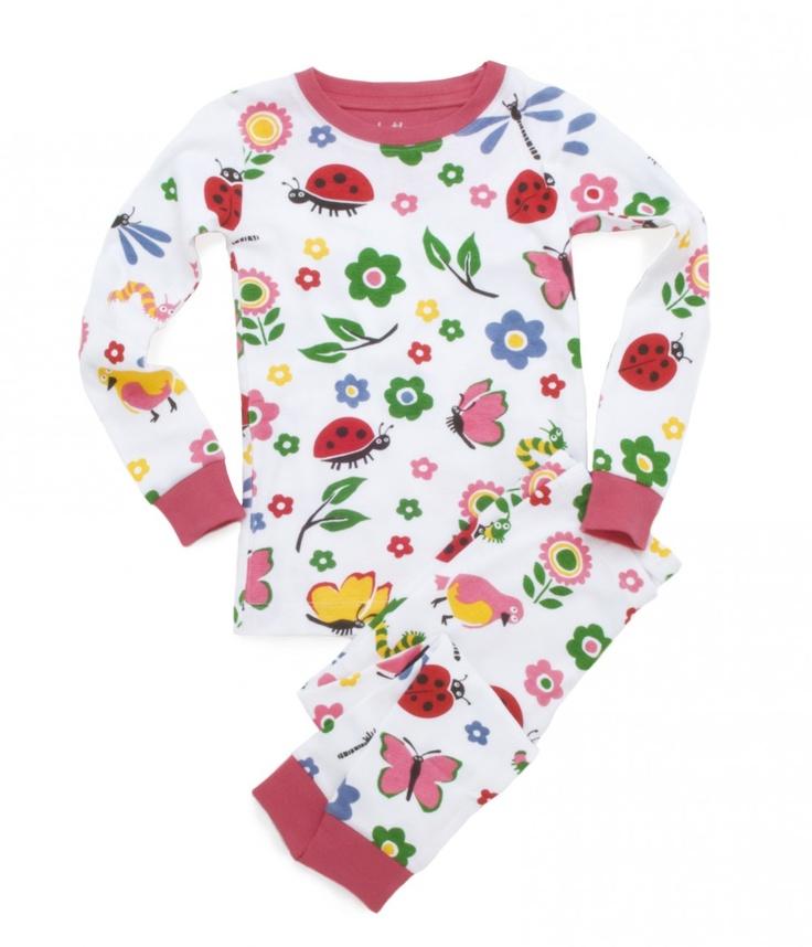 PLANET PYJAMA - Home of quality Kids pyjamas - Spring flowers