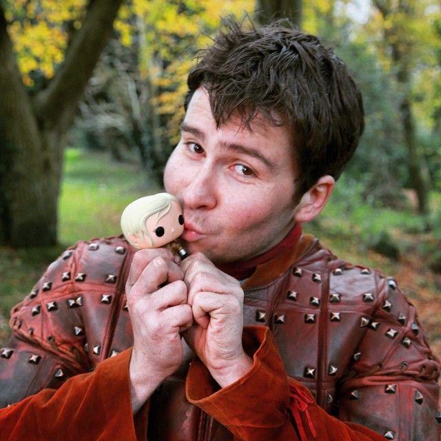 My favourite photo of all time - Daniel Portman aka Podrick Payne, Game of Thrones