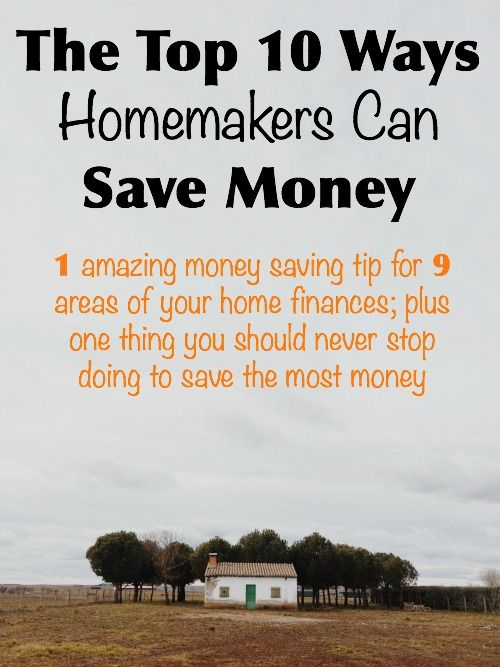 A top money saving tip for 9 different areas of your home finances plus a tip that will make you a thrifty ninja.