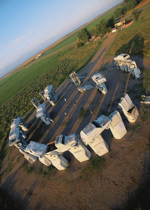 25 Things To Do Visit In Nebraska...Carhenge, Alliance