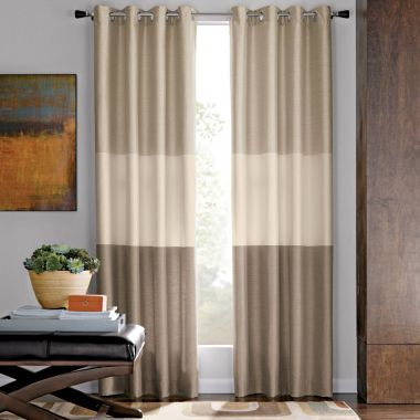 Blue And Brown Shower Curtain JCPenney American Livin