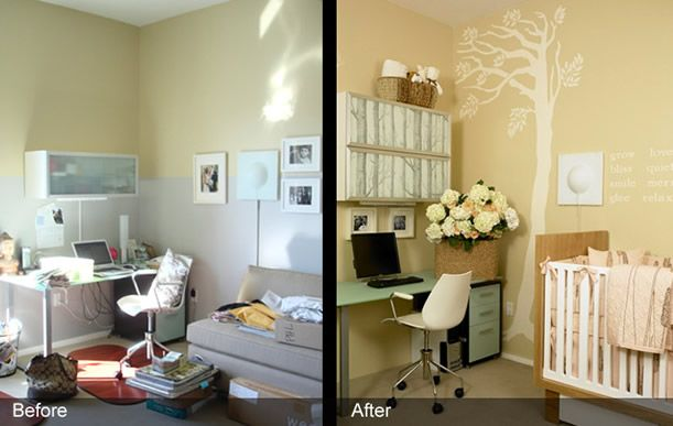 nursery and office | West 20th Nursery-Office | RoomRecipes