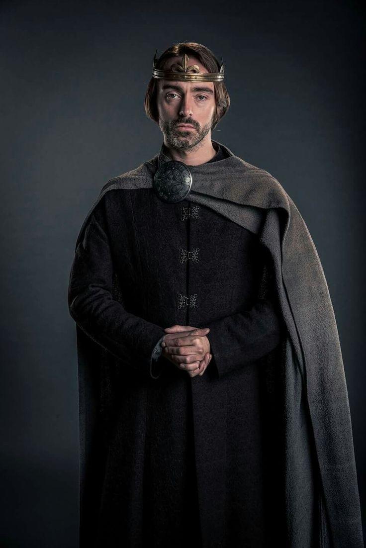 The wonderful David Dawson as King Alfred in The Last Kingdom.