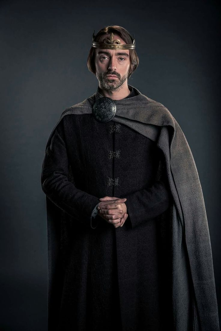 The wonderful David Dawson as King Alfred in The Last Kingdom.