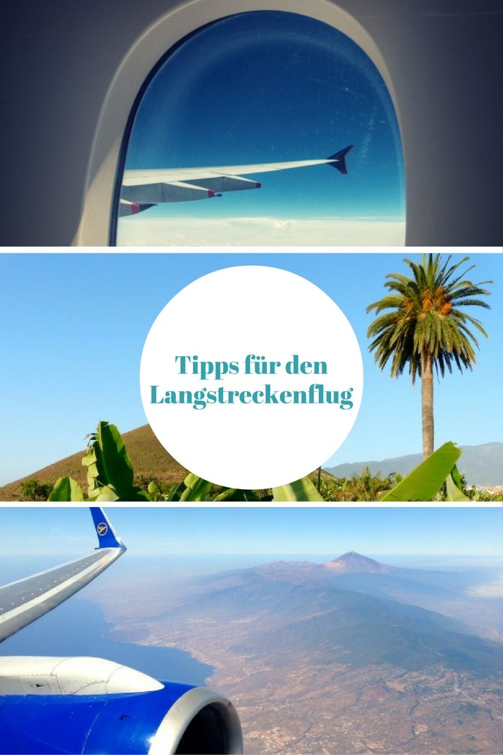 Urlaub & Reise: Langstreckenflug leicht gemacht - 17 Tipps & Tricks zu Flügen von einer Reisebloggerin, die seit ihrer einjährigen Weltreise rund vier Monate im Jahr unterwegs ist.