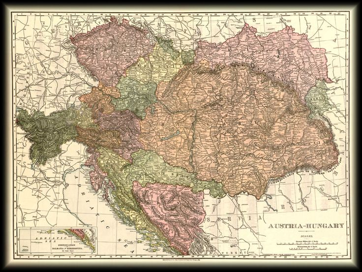 Magyarország térkép 1906
